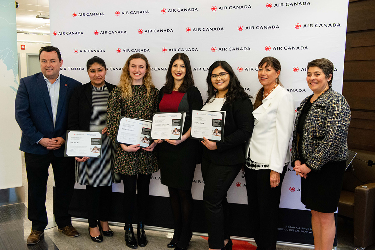 Air Canada Salutes Achievements of Women in Aviation