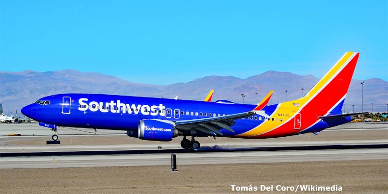 Southwest Airlines encarga a Boeing 34 - 737 MAX.