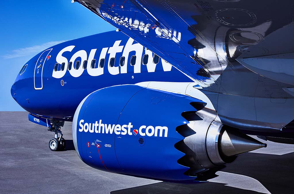 Southwest Airlines firma pedido por 100 B737 MAX 7